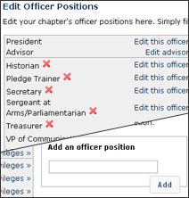 Screenshot of Custom Officers